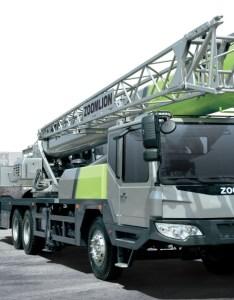 Zoomlion qy truck crane also powertrac  building  better future rh