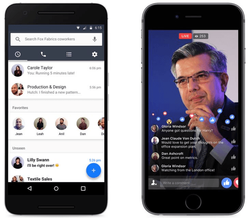 Workplace by Facebook. une nouvelle plateforme collaborative