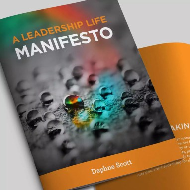 Leadership Manifesto Book Design