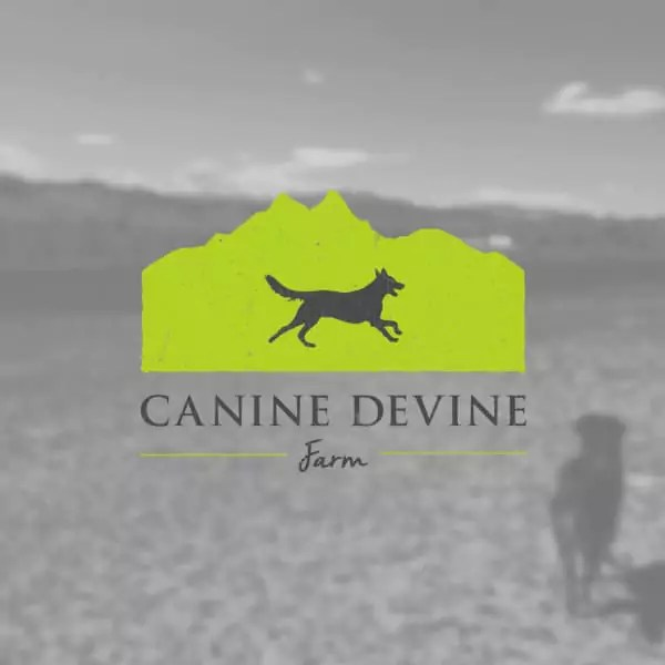 Canine Devine Farm Logo