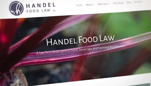 Handel Food Law