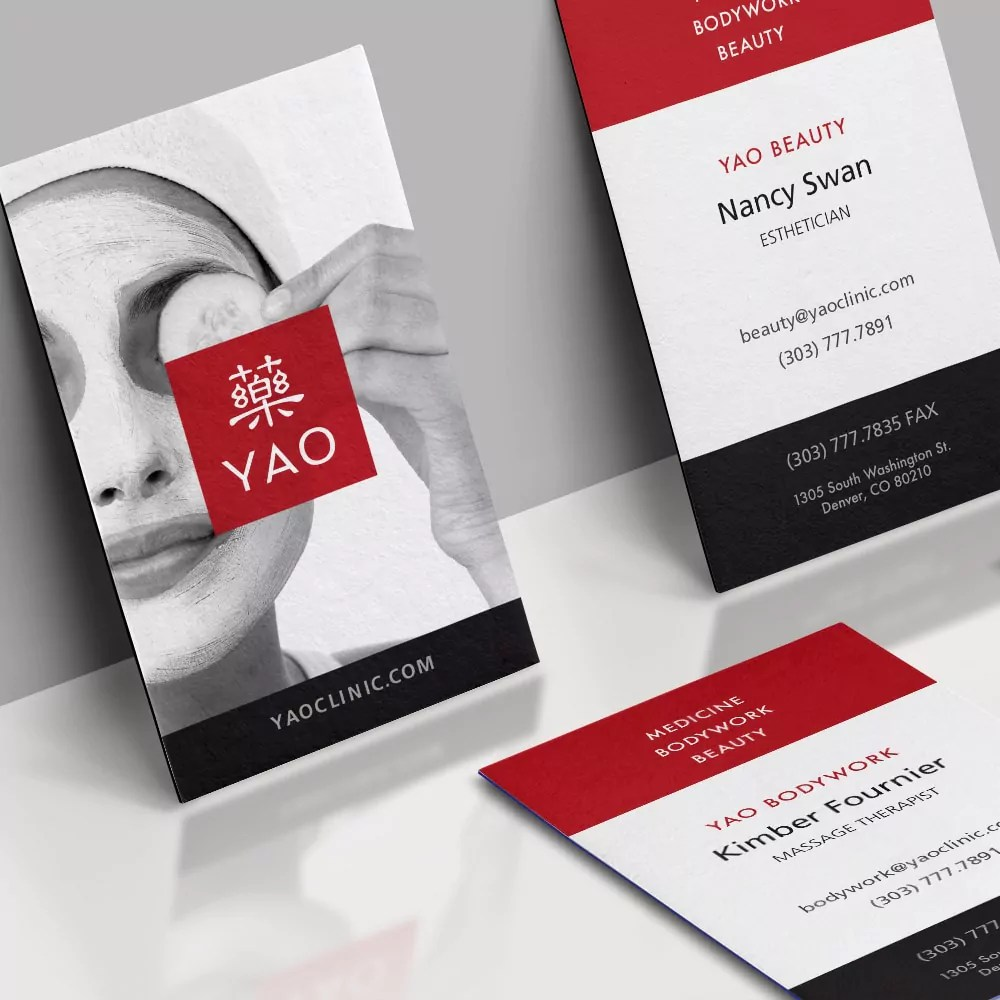 YAO Business Cards