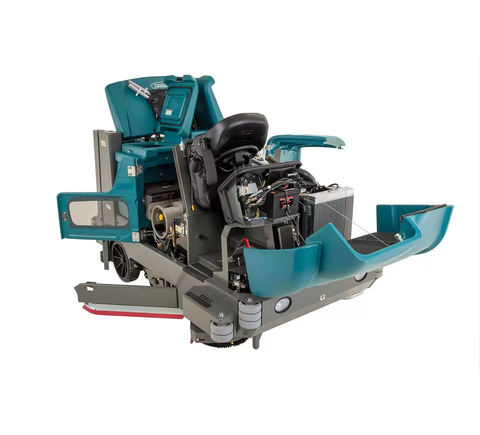 Tennant M20 Sweeper Scrubber  PowerVac Cleaning Equipment