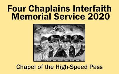 Four Chaplains Interfaith Memorial Service 2020