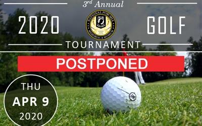 2020 Golf Tournament Postponed