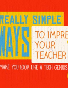 really simple ways to impress your teacher that will make you look like  tech genius powtoon blog also rh