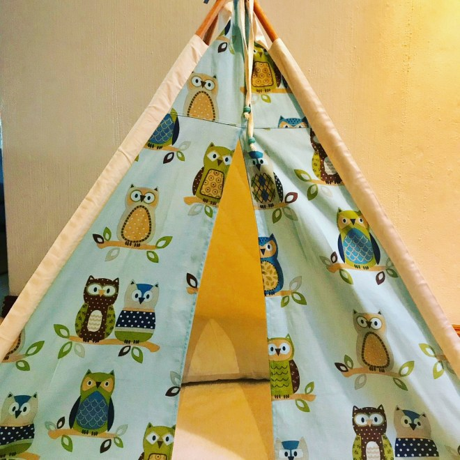 Owl Pattern Teepees for kids