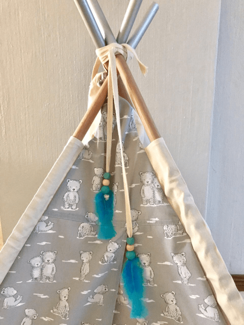 Feather accessories for teepees in Johannesburg