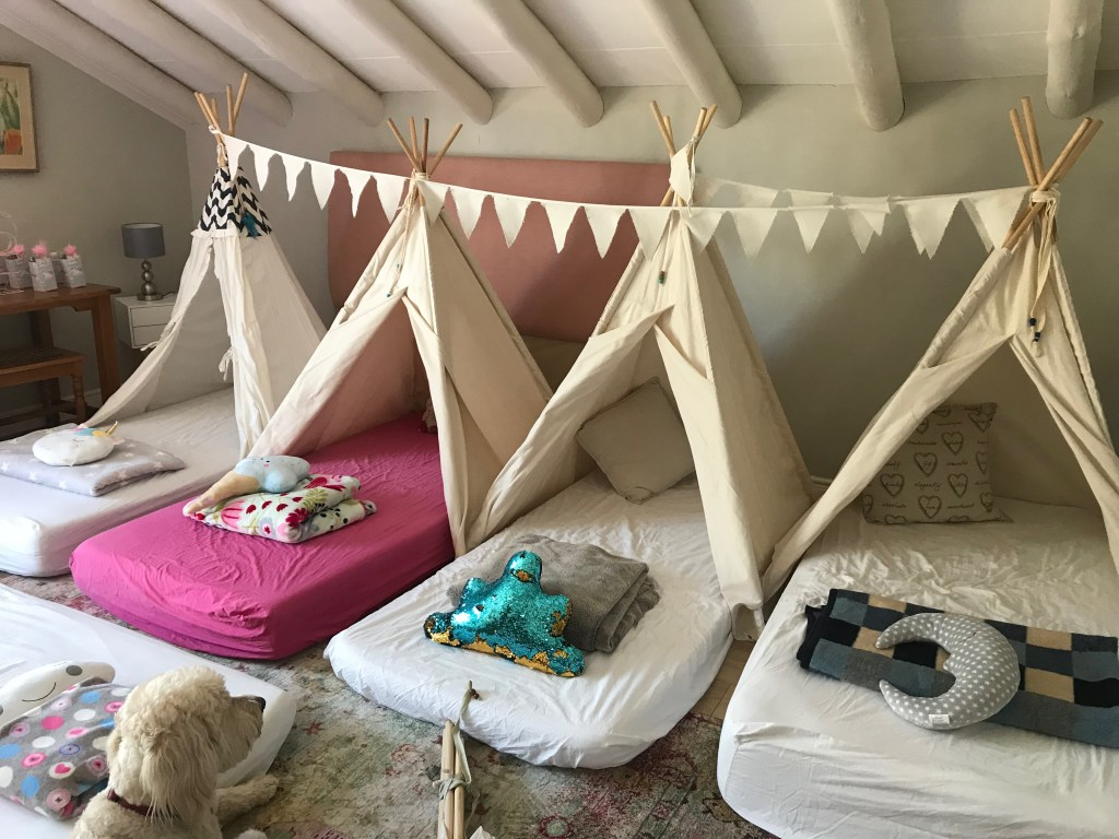 Teepees for party hire