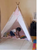 Teepees and playtents play tents in Zambia