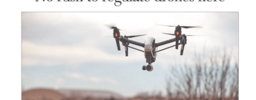 Front page of the day: Is that drone registered?