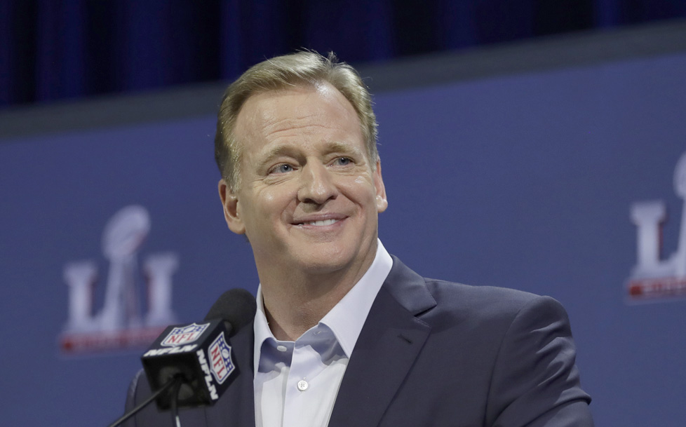 NFL yanks Super Bowl credentials from controversial sports site. NFL  Commissioner Roger Goodell ... 5a027c09b