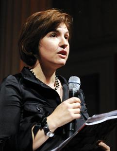 Susan Glasser, Politico's chief international affairs columnist.