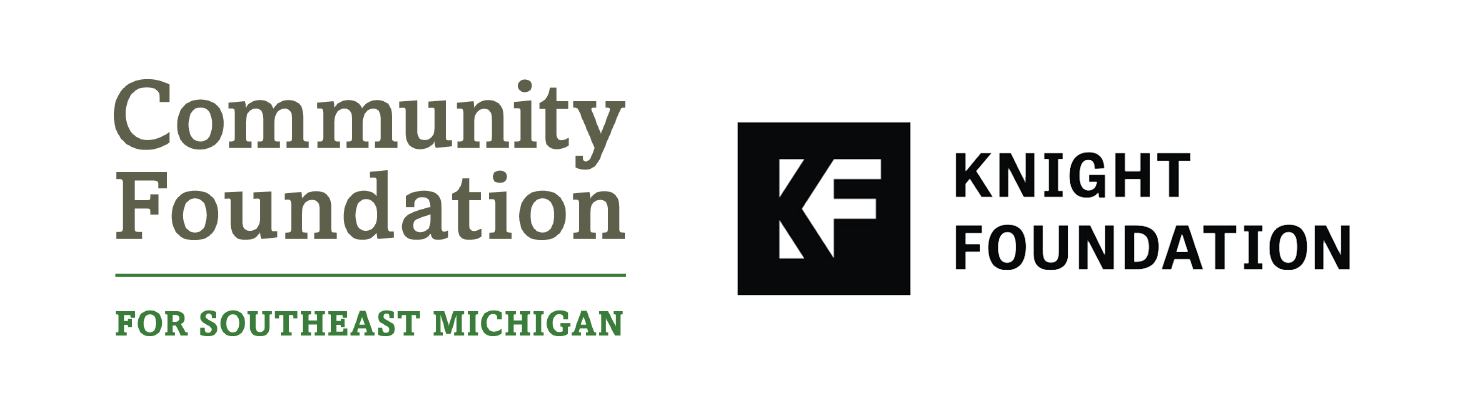 Community Foundation for Southeast Michigan and the Knight Foundation
