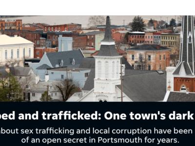 Screenshot, Cincinnati Enquirer