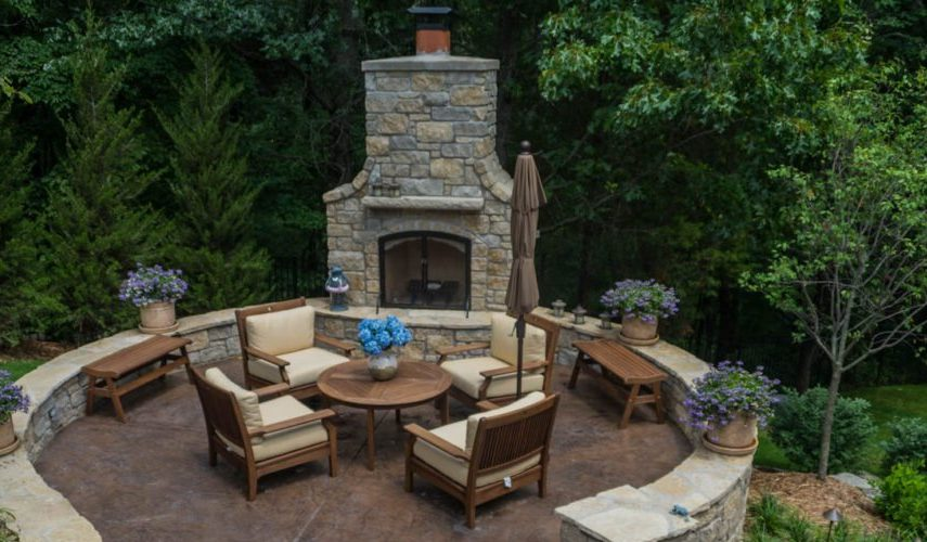 Outdoor Fireplace Contractor Brentwood Outdoor Fireplace Brentwood Outdoor Fireplace Ideas