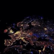 Nova godina 2014: Bosna i Hercegovina i Europa iz svemira
