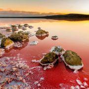 Očaravajuće jezero koje kao da se nalazi na Marsu