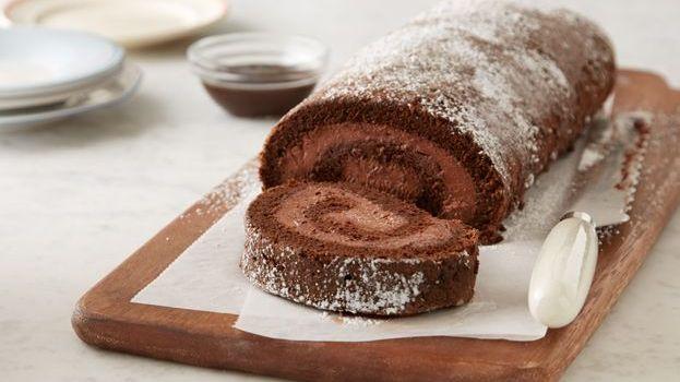 Čokoladni rolat sa ganache kremom