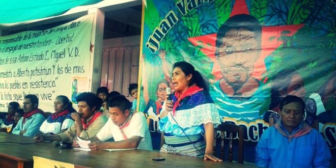 Denuncia de Antonio Estrada, preso político del ejido San Sebastián Bachajón, Chiapas