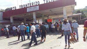 CNTE CHIAPAS - BLOQUEO JUNIO 2016