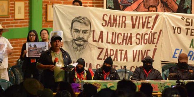 """""""La defensa de las semillas es la defensa del territorio"""", Foro EZLN CNI_CIG"""