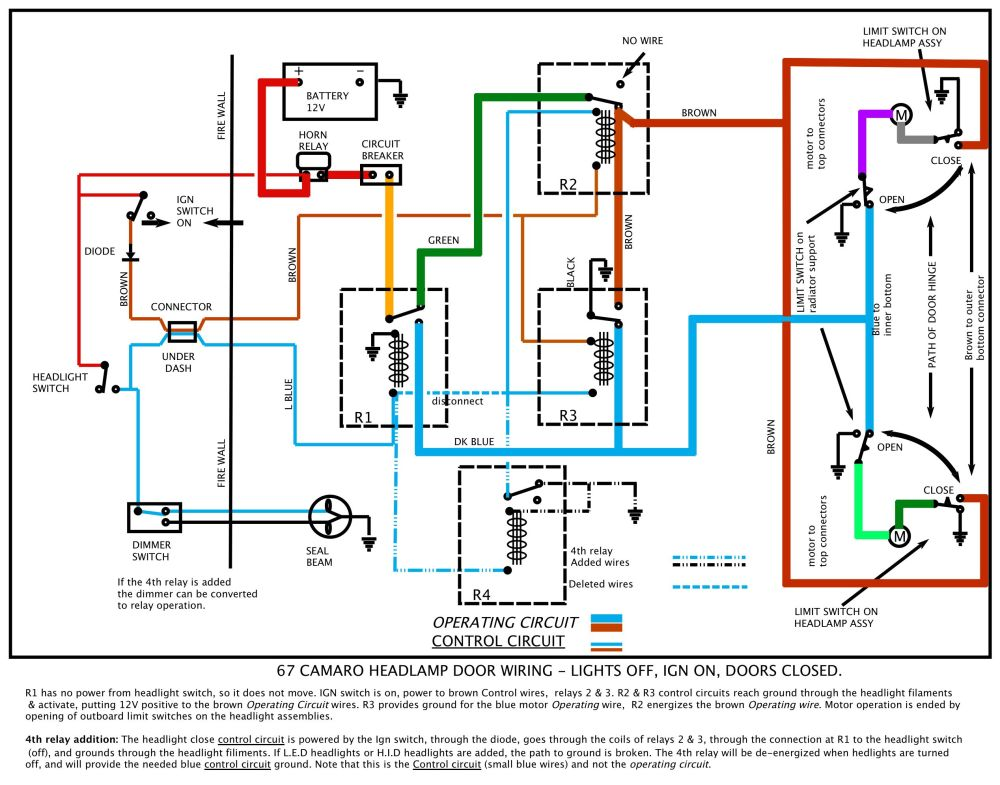 medium resolution of 1967 camaro heater wiring diagram