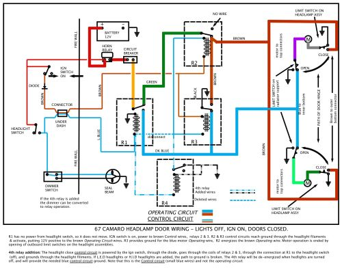 small resolution of 1968 camaro headlight wiring diagram enthusiast wiring diagrams u2022 rh rasalibre co ford headlight switch wiring