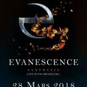Affiche de Evanescence au Grand Rex