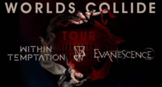 Evanescence - Within Temptation - Worlds Collide