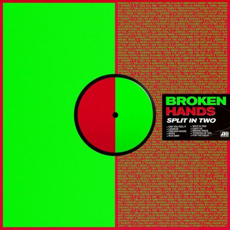 Couverture de l'album Split In Two de Broken Hands