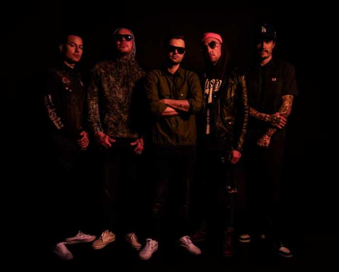Hollywood Undead au complet