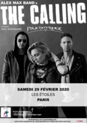 Affiche The Calling Etoiles 29 février 2020