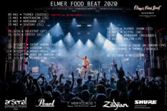 La tournée 2020 d'Elmer Food Beat passera par Marsanne