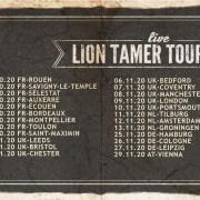 Steve'n'Seagulls Lion Tamer Tour France