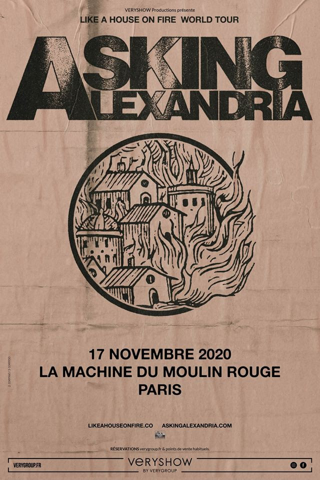 Asking Alexandria Paris 2020