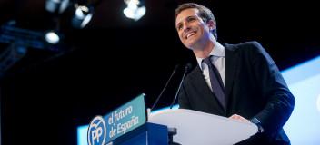 Pablo Casado, en su primer discurso como Presidente del Partido Popular