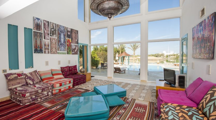 Colorful Villa in El Gouna Real Estate Red Sea Egypt