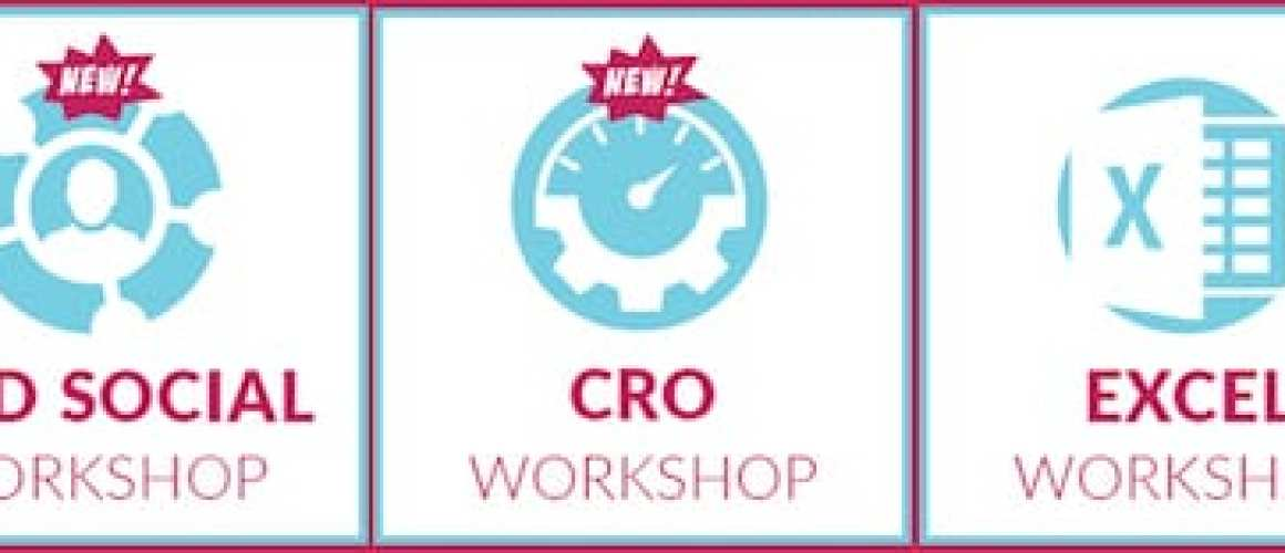 Brand New Workshops! Analytics, Paid Social, and CRO at Hero Conf
