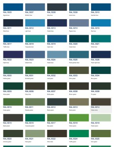 Ral colours chart also our colour mixing service can mix paint to any of your choice rh ppcoatings