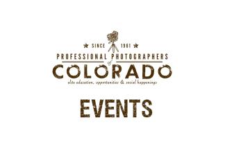 PPC Colorado Events