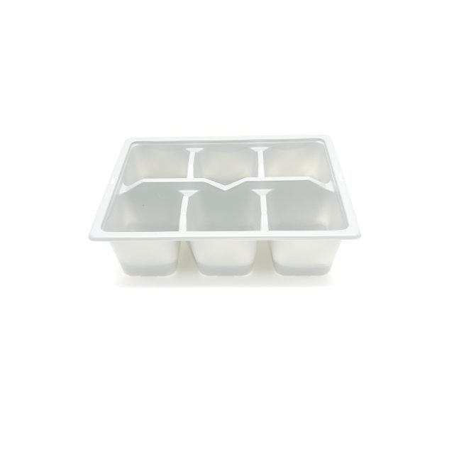 6x Cell Bedding Tray - Gray