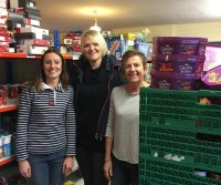 Snap Products deliver donations to the Trussell Trust foodbank