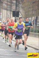 CEO Matt Franks in the London Landmarks Half Marathon