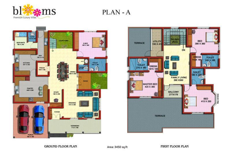 Floor Plan A - Prime Property Developers