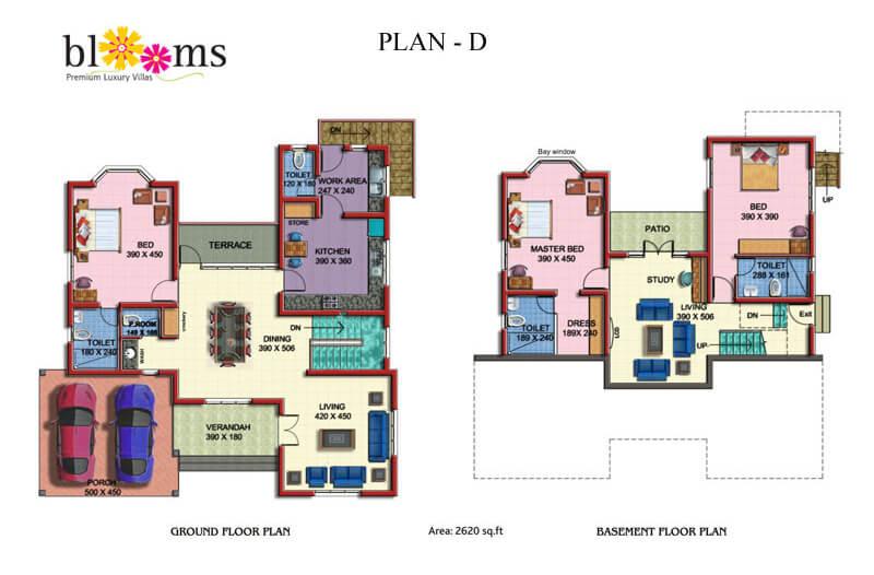 Floor Plan D Blooms - Prime Property Developers