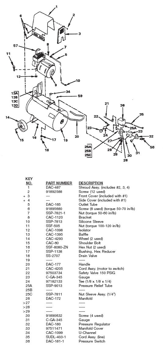 Devilbiss Air Compressor Wiring Diagram Pressure Switch