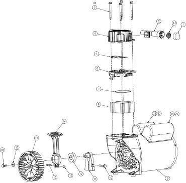 COLEMAN CLA1983012 AIR COMPRESSOR PARTS, REPAIR KITS