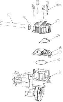 COLEMAN HPA1581909.01 AIR COMPRESSOR PARTS, REPAIR KITS