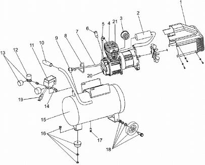 Sears Air Pressor Wiring Diagram. Sears. Wiring Diagram